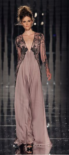ABED MAHFOUZ COUTURE FALL/ WINTER 2011-12 COLLECTION