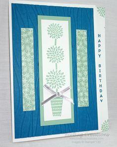 Vertical Greetings Stamp Set, Stampin' Up!