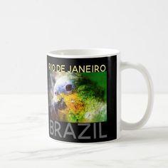 Rio De Janeiro Brazil Coffee Mug Custom Office Retirement #office #retirement