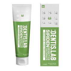 덴티스랩 천연시린이치약 시리덴 Medicine Packaging, Cosmetic Design, Top List, Box Packaging, Package Design, Dental, Bench, Packing, Skin Care