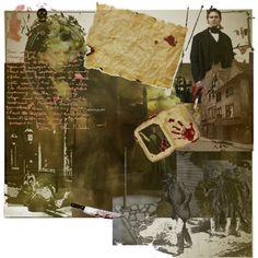The old streets of London, Polyvore set by Zappa