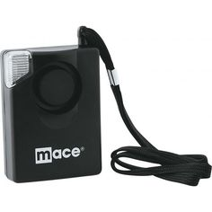 Mace 3 in 1 Sport Strobe Alarm The Mace® Brand 3-in-1 is a versatile personal protection device. It's a 130dB personal alarm with a flashing emergency strobe light feature. The strobe can be turned off so it can also be used as a flashlight. The Sport Strobe includes an attachment which allows it to be used as a door or window alarm.