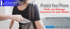 Get #protection against loss theft #damage your #cellphone #smartphone #android #mobile #Insurance by eGranary.net