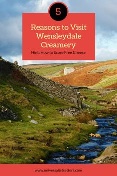Some of the best cheese in the world is Wensleydale Cheese. Made by hand in the Wensleydale Creamery in Hawes, North Yorkshire UK the Wensleydale Cheese Factory is a must-visit in the area. Read about the Wensleydale Cheese Experience, how much it costs and how you can snag free cheese.