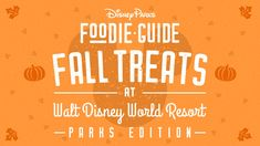 Foodie Guide to 2020 Fall Treats at Walt Disney World Resort Disney Parks Blog, Disney S, Disney Word, Walt Disney World Vacations, Disney Trips, Halloween Treats To Make, Waffle Toppings, Disney World Tips And Tricks, Fall Treats
