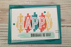 Caring for Stamps: Spring/Summer Catalog Countdown #28: Stampin' Up! ~ Happy Celebration