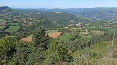 Canilhac et la vallée du Lot avant l'arrivée de l'automne