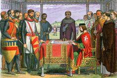 Eleanor of Aquitaine's Descendants Through John, King of England King John, King Henry, Queen Eleanor, Eleanor Of Aquitaine, Tudor Dynasty, High Middle Ages, Magna Carta, Plantagenet, England