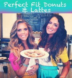 Healthy Donuts and latte recipes that are Tone It Up Approved!