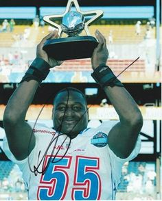 199c19af268 Derrick Brooks Autographed Tampa Bay Bucs 8x10 Pro Bowl Photo by Real Deal  Memorabilia.  67.95