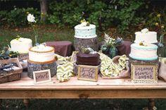Rustic Vintage Backyard Wedding: Emily   Michael