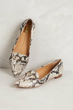 Giya Loafers in Neutral Motif Sock Shoes, Cute Shoes, Me Too Shoes, Shoe Boots, Shoes Sandals, Flats, Heels, Snake Skin Shoes, Mode Style