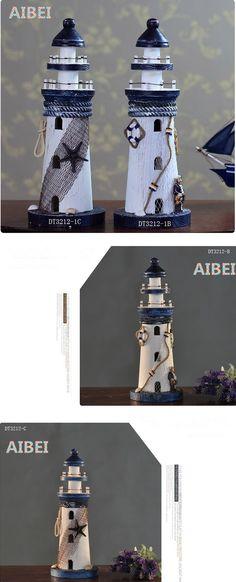 25 см деревянный маяк в средиземноморском стиле сторожевая башня модель ремесла навигацион украшения фото реквизит, принадлежащий категории Деревянные ремесла и относящийся к Для дома и сада на сайте AliExpress.com   Alibaba Group