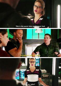 #Arrow - Oliver & Diggle #Season4 #4x16