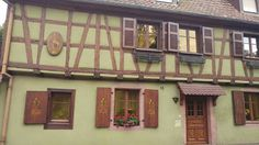 Casita verde Alsacia