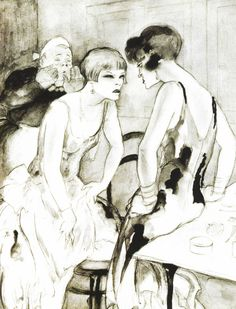 Jeanne Mammen, Lesbos, ca 1928