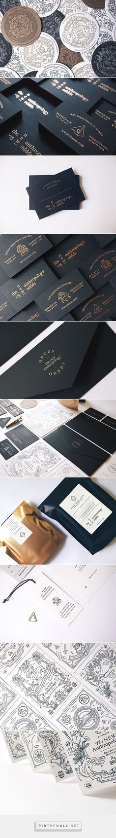You'll love this sleek anthropology-themed branding | Branding | Creative Bloq http://creativebloq.com