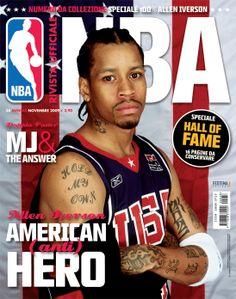 Rivista Ufficiale NBA - Covers by Francesco Poroli, via Behance