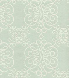 HGTV Home Upholstery Fabric-Seminole Mist