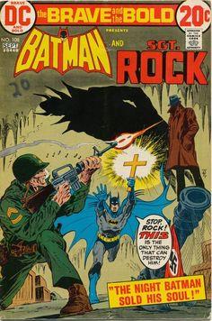 Batman DC Silver Age Superhero Comics Not Signed Dc Comics, Image Comics, Batman Comics, Robin Comics, Brave And The Bold, Be Bold, Silver Age, Bronze Age, Batman Comic Books