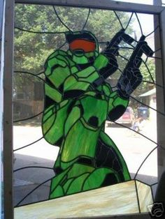 Halo Stained Glass idea