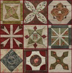 Récemment mis à jour3 Dear Jane Quilt, Star Quilt Blocks, Sampler Quilts, Patch Quilt, Blog, Paper Piecing, 2 Colours, Free Pattern, Projects To Try