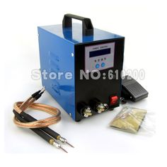 186.99$  Buy now - http://ali4ns.worldwells.pw/go.php?t=32521607657 - LCD display 18650 battery spot welder machine Pedal control Pen type Handheld  welding machine 220V 186.99$