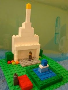 Love this Lego Temple idea. Trying to find new ways to keep the kiddos reverent for conference. I think I will use it as one of the BINGO prices. :D