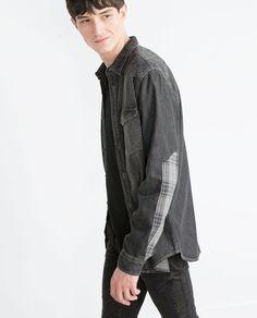Image 3 of DENIM SHIRT from Zara