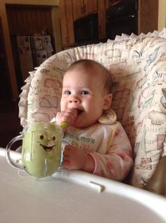 Baby's first food: #avocado! #babybullet #babyfood