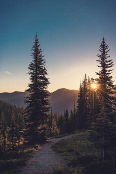"Follow Your Path| ""An Amazing Destination""-Serafini Amelia| winsnap:  Sunrise Point, Mt. Rainier | by Thomas Franta"