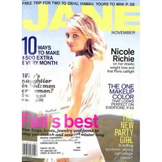 Cover Print of Jane Magazine, November 2005 | $6.60