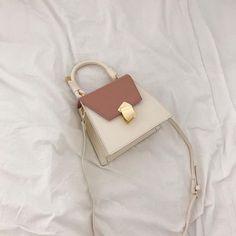 #Bag #bags #crossbody #handle #Metal #Pink #Pushlock #shoulder #Top #White
