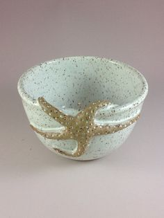Starfish Cereal or Soup Bowl - Rockfish River Pottery