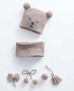 Modèle Bonnet Bébé Bobby Phil Rapido - Knitting And Crocheting Knitted Hats Kids, Baby Hats Knitting, Crochet Baby Hats, Knitting For Kids, Crochet Beanie, Easy Knitting, Kids Hats, Baby Knitting Patterns, Loom Knitting