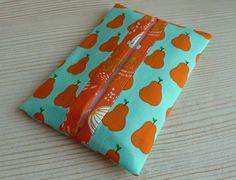 Pear print tissue holder  https://www.etsy.com/uk/shop/Foiledbyfelines