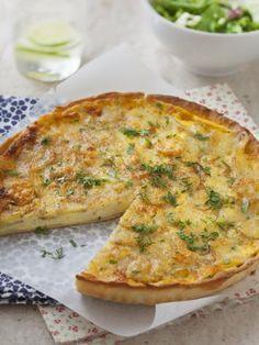muscade, poivre, oeuf, Fromage à raclette, beaufort, crème liquide, beurre, pâte brisée, comté