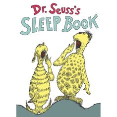 Dr. Seuss's Sleep Book By Dr. Seuss (Hard Cover)