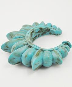 pamela love turquoise spike cuff
