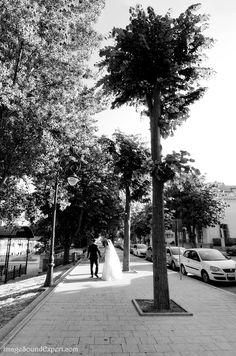to the light by Angelica Vaihel #light #wedding #bw #photoshooting