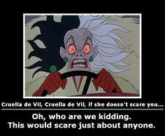 Cruella de Vil, Cruella de Vil by will-o-the-wispy.deviantart.com on @deviantART