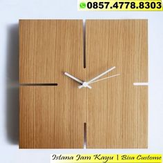 20 Best Jual Jam Kayu Murah 359733806b