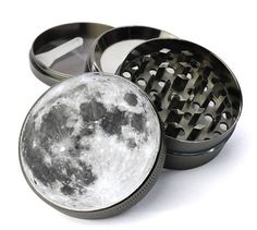 Full Moon Extra Large 5 Piece Spice Tobacco Herb Grinder with