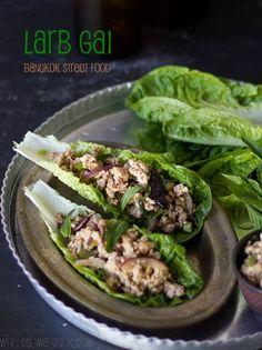 15 Minute Larb Gai Salad (with a vegetarian tofu option) - nice to get some good easy Thai recipes.