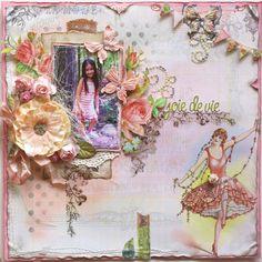 Joie de Vie **ScrapThat! Guest Designer** - Scrapbook.com Prima - Divine Collection