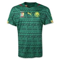 Cameroon 2014 FIFA World Cup Home Jersey, this will be the seventh FIFA World Cup competition that Cameroon will compete in.http://www.soccerbox.com/43100