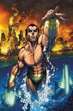 Namor The Sub-Mariner by Michael Turner #Namor #michaelturner