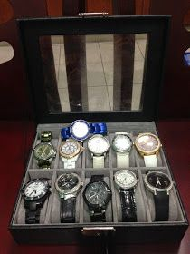 So Many Things to Do, So Little Time: DIY Watch Organizer