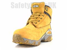 736c47d7175 JCB 4X4-H Safety Boots Honey With Steel Toe Caps   Midsole