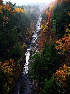 Quechee Gorge, Vermont  new england is such a beautiful place to live <3
